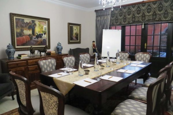 Warm and Comfortable Conference Room